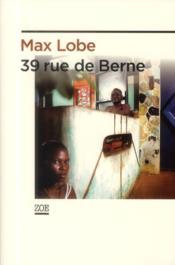 39 rue de Berne - Couverture - Format classique