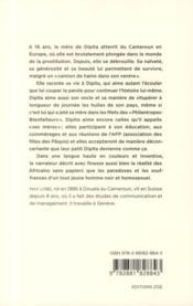 39 rue de Berne - 4ème de couverture - Format classique