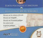 Écrits politiques et discours - Couverture - Format classique