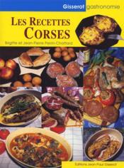 Les recettes corses - Couverture - Format classique