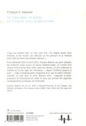La lune dans le puits ; des histoires vraies de Méditerranée - 4ème de couverture - Format classique