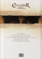Excalibur ; chroniques T.2 ; Cernunnos - 4ème de couverture - Format classique