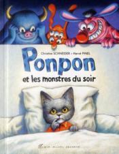 Ponpon et les monstres du soir - Couverture - Format classique