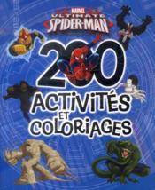 Spider-man ; 200 activités et coloriages - Couverture - Format classique