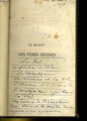 Le Secret Des Voies Divines - Couverture - Format classique