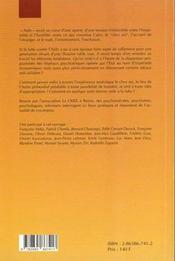 Asile - 4ème de couverture - Format classique