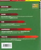 La Sante Est Dans Votre Assiette - 4ème de couverture - Format classique