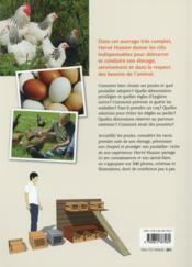 Poules ; guide complet de l'éleveur amateur - 4ème de couverture - Format classique