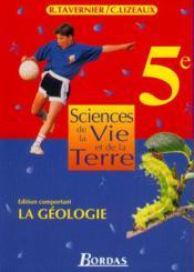 Svt 5e geologie eleve 97 np - Couverture - Format classique
