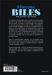 Simone Biles, mon parcours vers l'envol - 4ème de couverture - Format classique