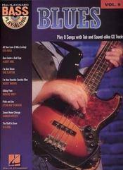 Bass play along t.9 ; Blues ; cd ; tablatures ; basse - Intérieur - Format classique
