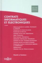 Contrats informatiques et électroniques (4e édition) - Intérieur - Format classique