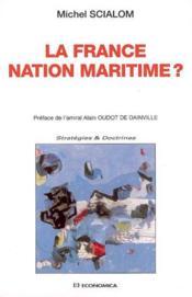 La France, Nation Maritime - Couverture - Format classique