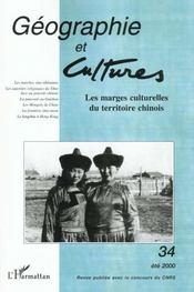 Revue Geographie Et Cultures T.34 - Intérieur - Format classique