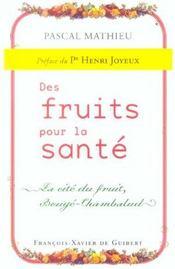 Des fruits pour la sante - Intérieur - Format classique