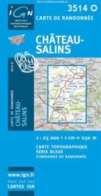 Châpteau-Salins - Couverture - Format classique