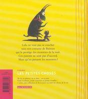 Lulu l'invincible - 4ème de couverture - Format classique