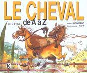 Le cheval illustré de A à Z - Intérieur - Format classique