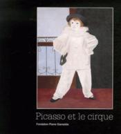 Picasso et le cirque - Couverture - Format classique