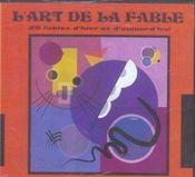 L'art de la fable - Intérieur - Format classique