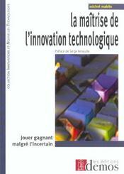 Maitrise De L'Innovation Technologique - Intérieur - Format classique