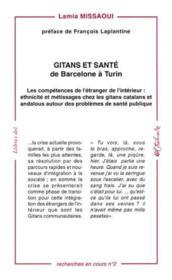Gitans et sante de barcelone a turin - Couverture - Format classique