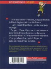 Mystères au donjon t.6 ; la bague ensorcelée - 4ème de couverture - Format classique