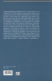 Fabrique de l'art national ; le nationalisme et les origines de l'histoire de l'art en France et en Allemagne (1870-1933) - 4ème de couverture - Format classique