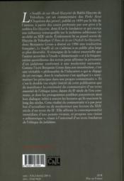 Le souffle de vie - 4ème de couverture - Format classique