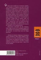 Chroniques du village planétaire - 4ème de couverture - Format classique
