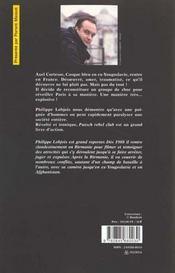 Putsch - 4ème de couverture - Format classique