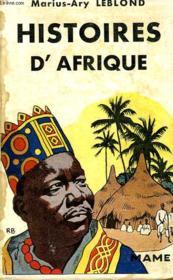 Histoires D'Afrique - Couverture - Format classique