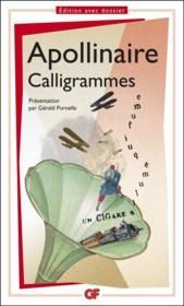 Calligrammes - Couverture - Format classique