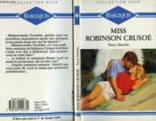 Miss Robinson Crusoe - Couverture - Format classique