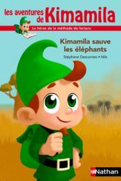 Kimamila sauve les éléphants - Couverture - Format classique