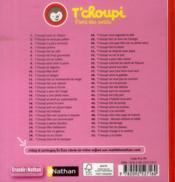 T'choupi a un bobo - 4ème de couverture - Format classique