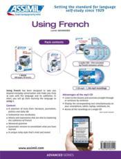 Using french - 4ème de couverture - Format classique