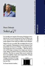 Soleà (2e édition) - 4ème de couverture - Format classique