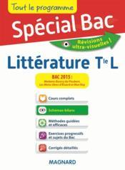 Spécial bac ; littérature ; terminale L - Couverture - Format classique