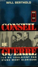 Conseil De Guerre - Kriegsgericht - Couverture - Format classique