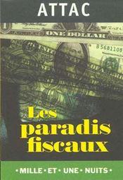 Les Paradis Fiscaux Ou La Finance Hors La Loi - Intérieur - Format classique