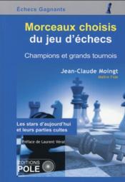 Morceaux choisis du jeu d'échecs - Couverture - Format classique