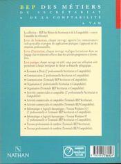 Economie Et Droit 2e Professionnelle - 4ème de couverture - Format classique