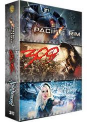 Pacific Rim + Sucker Punch + 300 - Couverture - Format classique