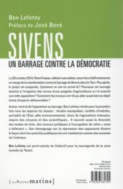 Sivens, un barrage contre la démocratie - 4ème de couverture - Format classique