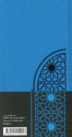 Contes des sages du Maghreb - 4ème de couverture - Format classique