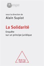 La solidarité - Couverture - Format classique