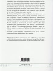 Eutopiques ; exercices de méditations physiques - 4ème de couverture - Format classique