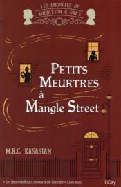 Petits meurtres à Mangle Street - Couverture - Format classique