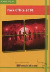 Pack Office 2010 ; découverte et initiation ; livre élève - Couverture - Format classique
